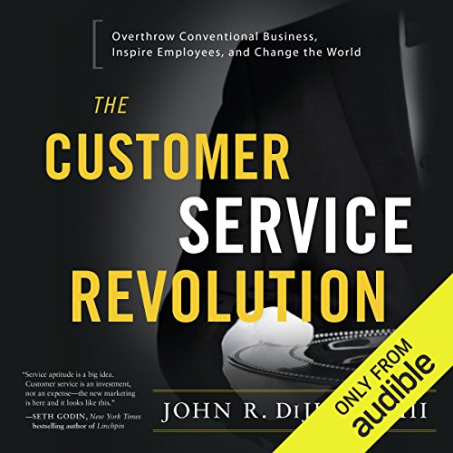 The Customer Service Revolution audiobook cover art