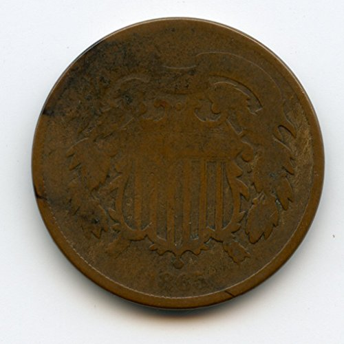 1865 Two Two Cents AG/G