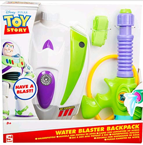 Sambro Toy Story Water Gun with Reservoir, Multi-Colour (DTS-3377)