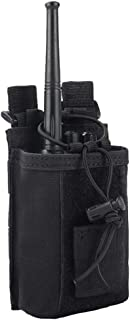 Ydmpro Radio Pouch - 1000D Tactical Molle Adjustable Two Way Radios Holder Bag Case for Walkie Talkies
