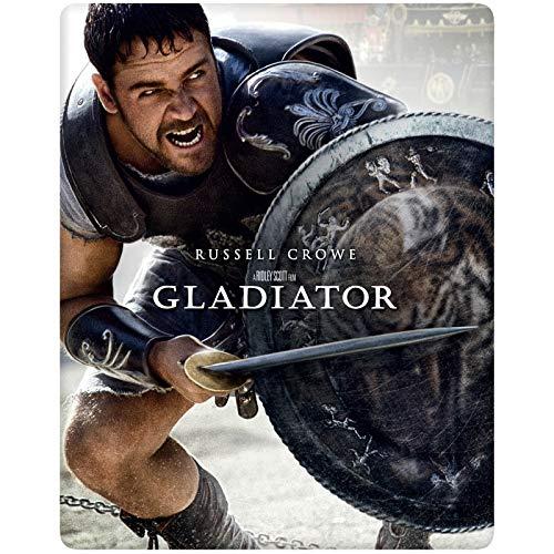 Gladiator 4K, Zavvi exklusiv, OOP, Steelbook, Blu-ray 4K UHD ohne deutschen Ton + 2D Blu-ray mit deutschem Ton, Uncut, Regionfree