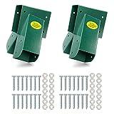 BETOOLL A-Frame 2 Brackets Swing Set Bracket with Mounting Hardware (Green)