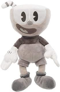 Funko Plush: Cuphead - Cuphead (Black & White) Collectible Figure, Multicolor