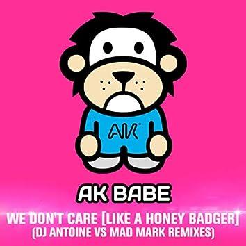 We Don't Care (DJ Antoine vs Mad Mark Radio Edit)