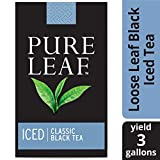Pure Leaf Black Iced Loose Tea Pouch Unsweetened Made with Tea Leaves Sourced from Rainforest...