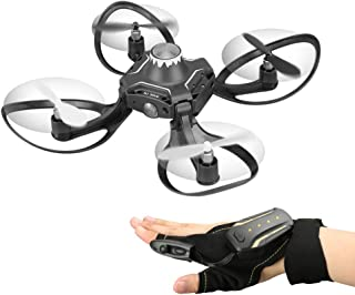 Goolsky 2.4G Glove Control Interactive Mini Drone w/ Alitude Hold Gesture Control RC Quadcopter for Beginners