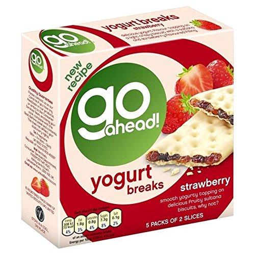 Go Ahead Yoghurt Large discharge sale Breaks Austin Mall Strawberry 5 2 pack of per - Pack