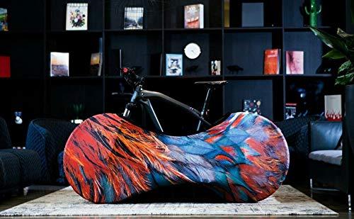 Bicicleta Protección Protección a prueba de polvo for bicicletas de montaña cubierta de bicicleta de carretera cubierta de almacenamiento interior elástico cubierta de polvo de bicicletas Pequeña Prot