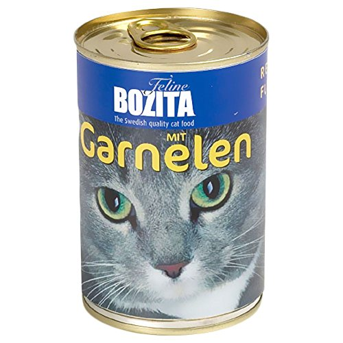 Bozita Cat mit Lachs 410 g Dose Katzen-Nassfutter 97% Fleisch