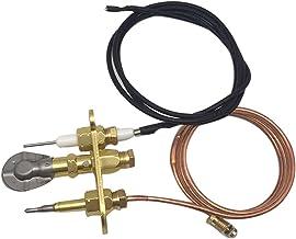 MIAOMIAO Liquefied Gas M8 * 1 Thermokoppel 900mm Ontstekingslijn Drie Fire Lange Open Vlam Componenten Gasverwarmer Vuur P...
