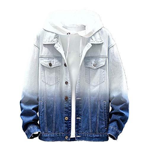 Chaqueta de jeans de los hombres en otoño e invierno