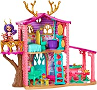 Enchantimals COZY DEER HOUSE PLAYSET + DANESSA DEER DOLL & SPRINT