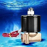 Válvula N/C de latón resistente al desgaste para controles de riego