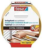 TESA 05686-00018 - Cinta adhesiva (Amarillo, De plástico)