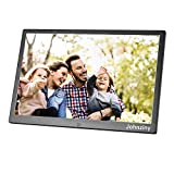 13.3 inch Digital Picture Photo Frame 1366x768 720 1080P Picture Video Player, Support USB Drives SD/MMC/MS Card, with Remote Control/Calendar/12 Languages/Clock Alarm Functions