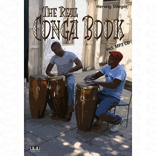The real Conga Book - arrangiert für Conga - mit CD [Noten/Sheetmusic] Komponist : STIEGER HERWIG