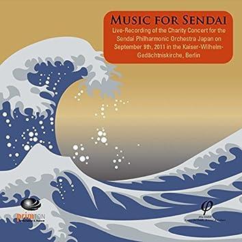 Elgar, Mozart, Dvořák, Kupkovič, Bamba, Ives & Bach: Music for Sendai