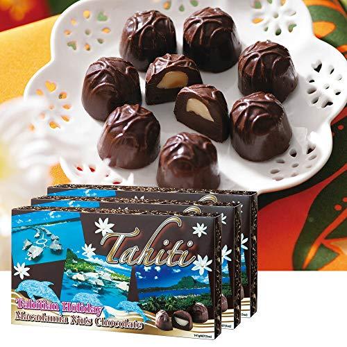 タヒチ マカデミアナッツ チョコレート 3箱セット【タヒチ おみやげ(お土産) 輸入食品 スイーツ】