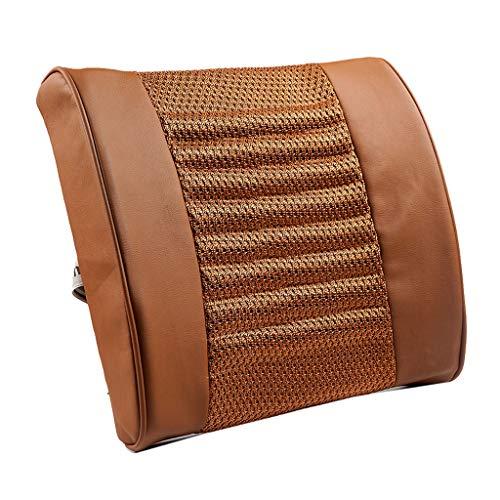 XXT Waist Pad Office Waist Pad Car Waist Back Waist Pad Office Seat Back Waist Support Lumbar Pillow Waist Pad (Color : Brown)