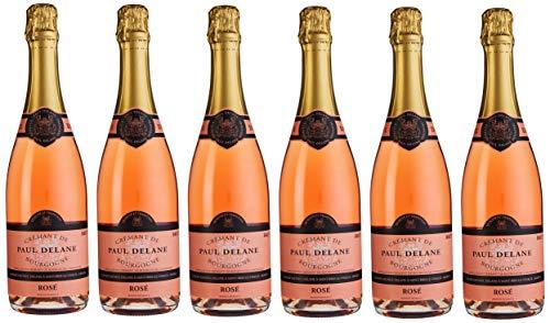 Crémant de Bourgogne Rosé Brut, Paul Delane (6 x 0,75l)