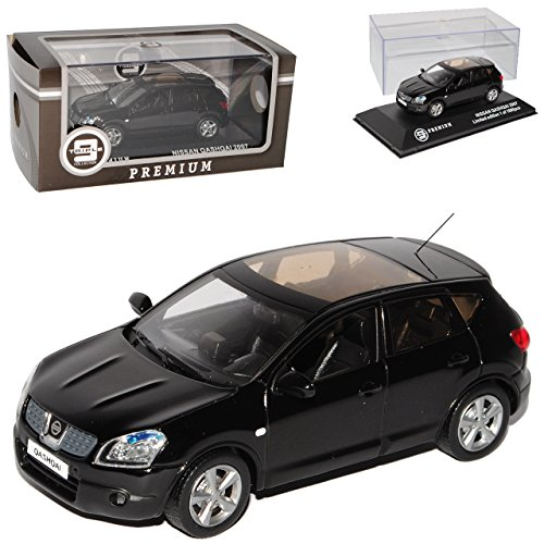 mächtig der welt Ixo Nissan Qashqai Schwarz 1. Generation 2006-2013 Begrenzte Menge 1008 Triple 9 Modell 1/43…