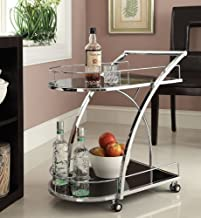 metal drinks trolley