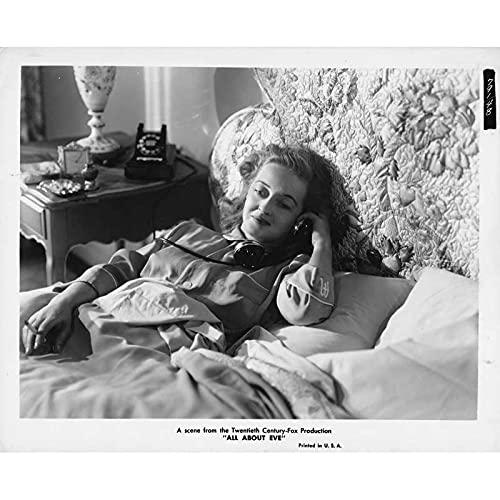 EVE Photo de presse 791-48 - 20x25 cm. - 1950 - Bette Davis, Joseph L. Mankiewicz