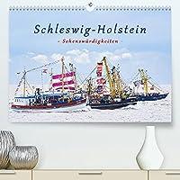 Schleswig-Holstein Sehenswuerdigkeiten (Premium, hochwertiger DIN A2 Wandkalender 2022, Kunstdruck in Hochglanz): Geniessen Sie diese stimmungsvollen Bilder von Schleswig-Holstein, die eine vielfaeltige Auswahl der schoensten Sehenswuerdigkeiten zeigen. (Monatskalender, 14 Seiten )