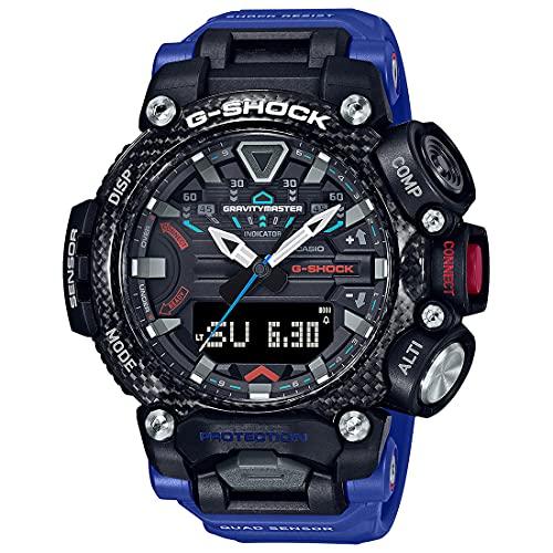 Casio G-Shock Analog-Digital Black Dial Men's Watch-GR-B200-1A2DR