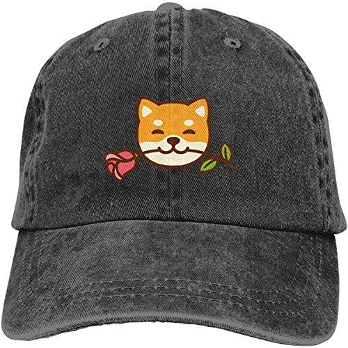 Preisvergleich Produktbild Voxpkrs Shiba Inu FacesAdjustable Unisex Baseball Cap Snapback Hat Cotton Denim Cap HJASKJDSNAHIWQASD 5593