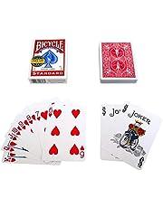 اوراق لعب بايسكل احمر ستاندر امريكية -العاب الخفة