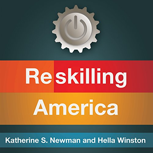 Reskilling America audiobook cover art