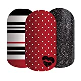 'Love Affair' - Jamberry Lacquer Strips - Nail Polish Stickers for DIY Nail Art