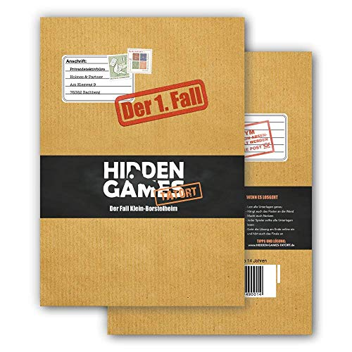 Hidden Games Tatort Krimispiel Fall 1, Escape Room Spiel