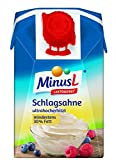 MinusL Schlagsahne 30% laktosefrei, 9er Pack (9 x 200 ml)