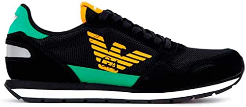Emporio armani sneakers uomo con logo EA000209NE41