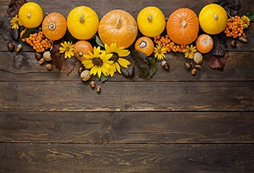 price OERJU 12x10ft Thanksgiving OFFicial shop Day Pumpk Autumn Backdrop Photography