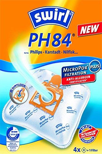 4 Staubsaugerbeutel für Philips T 519 topmatic deluxe von Staubbeutel-Profi®