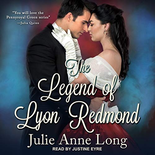 The Legend of Lyon Redmond audiobook cover art