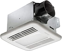 Delta Electronics (Americas) Ltd. GBR80MHLED Delta BreezGreenBuilder Series 80 CFM fan/Dimmable LED Light with M&H dual sensor, 11W, 0.8 Sones, Motion & Humidity