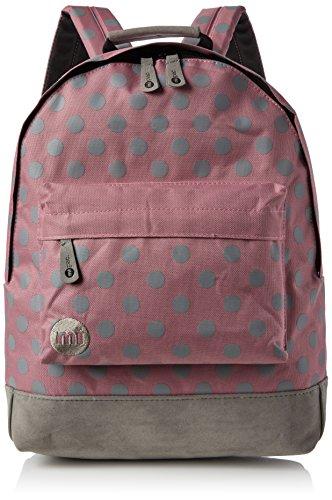 Mi-Pac All Polka Backpack Mochila Tipo Casual, 41 cm, 17 litros, Rose/Grey