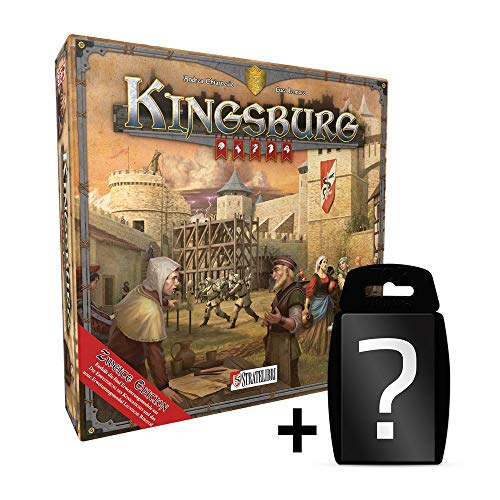 Kingsburg - 2. Edition - DEUTSCH | Set inkl. Kartenspiel