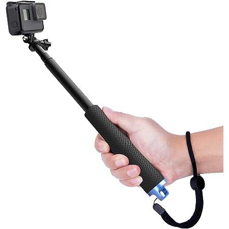 YANTRALAY SCHOOL OF GADGETS 19 Inch Extendable Hand Grip Waterproof Monopod Selfie Stick for Action Cameras Compatible with GoPro Hero 7/6/5, SJCAM, Eken, Yi