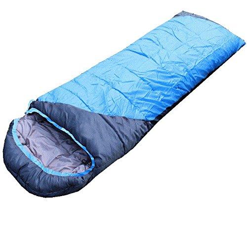 Yy.f Light Sleeping Bag Sac Compact Ultra Léger Est Idéal Pour La Marche Le Sac à Dos Le Couple De Camping Et Le Voyage.,Blue-(190+30)*75cm(2kg)