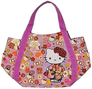 ecef6648f BLY Hello Kitty Balloon Bag Japanese Design (Kimono & Flower) 4025 from  Japan