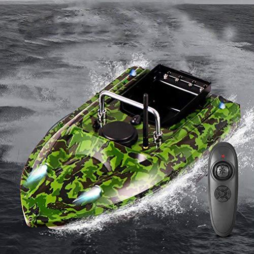 ANAN Barco Cebo Pesca Distancia Control Remoto 500m, Señuelo RC Barco Pesca 1,5 kg Capacidad Carga, Barco Cebador Mando a Distancia 2,4 GHz, Gran Capacidad 5200Mah La Batería,A