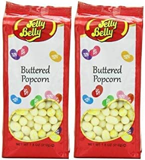 Jelly Belly Gift Bag, Buttered Popcorn (Pack of 2)