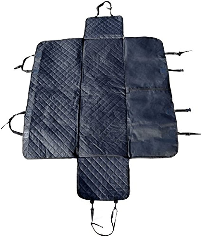 Budge ACDSH1 Black NonSlip Waterproof Pet Seat Cover Hammock
