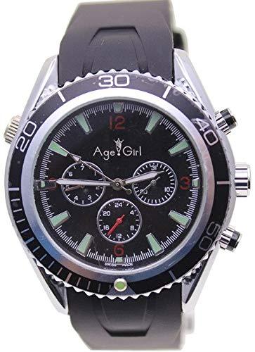 LESHARED Top Sky Fall automatische mechanische Uhr Blue Rubber Uhren Sportmode Herren Armbanduhr1