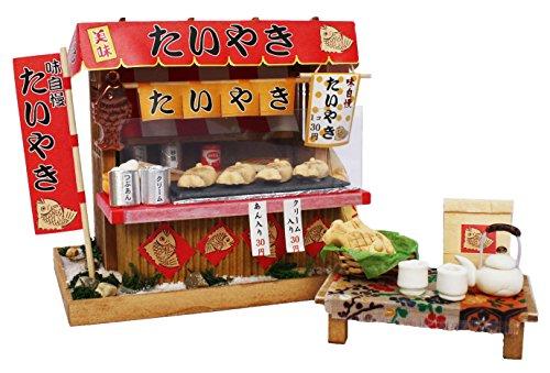 Billy handmade dollhouse kit Showa stand kit Taiyaki shop 8537 (japan import)